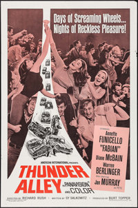 """Thunder Alley (American International, 1967). One Sheet (27"""" X 41""""). Action"""