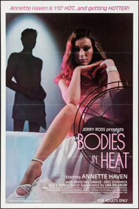 """Bodies in Heat & Other Lot (Caballero Releasing, 1983). One Sheets (2) (27"""" X 41"""" & 25.5"""" X 39.5&..."""