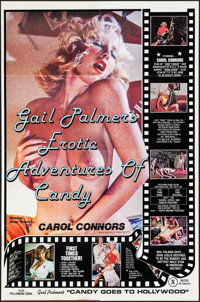 """Erotic Adventures of Candy & Other Lot (Caribbean Films, 1978). One Sheet (25"""" X 38"""" & 23"""" X 35&q..."""
