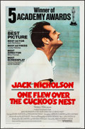 "Movie Posters:Academy Award Winners, One Flew Over the Cuckoo's Nest (United Artists, 1975).International One Sheet (27"" X 41"") Academy Awards Style. Drama....."