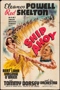 """Movie Posters:Musical, Ship Ahoy (MGM, 1942). One Sheet (27"""" X 41"""") Style D. Musical.. ..."""