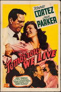 "Movie Posters:Adventure, Tomorrow We Live (PRC, 1942). One Sheet (27"" X 41""). Adventure....."