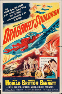 """Dragonfly Squadron (Allied Artists, 1954). One Sheet (27"""" X 41""""). War"""
