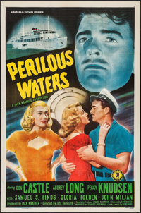"Perilous Waters (Monogram, 1948). One Sheet (27"" X 41""). Drama"