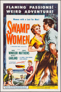"""Swamp Women (Woolner Brothers, 1956). One Sheet (27"""" X 41""""). Bad Girl"""