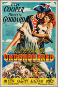 """Movie Posters:Adventure, Unconquered (Paramount, 1947). One Sheet (27"""" X 41""""). Adventure.. ..."""