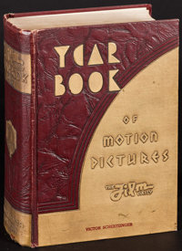 """Film Daily Year Book of Motion Pictures (Film and Television Daily, 1938). Book (1264 Pages, 6.25"""" X 9.25""""). M..."""