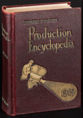 """Movie Posters:Miscellaneous, Motion Picture Production Encyclopedia (Hollywood Reporter Press, 1949). Hardcover Book (1012 Pages, 6.25"""" X 9.25""""). Miscell..."""
