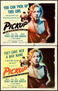 "Movie Posters:Bad Girl, Pickup (Columbia, 1951). Title Lobby Cards (2) (11"" X 14"").. ...(Total: 2 Items)"
