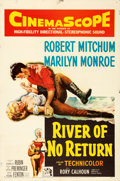 """Movie Posters:Western, River of No Return (20th Century Fox, 1954). One Sheet (27"""" X 41"""").. ..."""