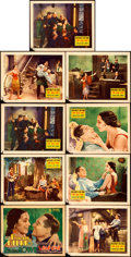 "Movie Posters:Drama, The Bad One (United Artists, 1930). Lobby Card Set of 8 & Lobby Card (11"" X 14""). Drama.. ... (Total: 9 Items)"