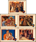 """Movie Posters:Drama, Drums of Love (United Artists, 1928). Lobby Cards (5) (11"""" X 14"""")..... (Total: 5 Items)"""