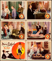 """Kiki (United Artists, 1931). Title Lobby Card and Lobby Cards (5) (11"""" X 14""""). ... (Total: 6 Items)"""