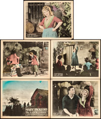 """The Love Light (United Artists, 1921). Title Lobby Card & Lobby Cards (4) (11"""" X 14""""). ... (Total: 5 Items..."""