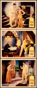 """Movie Posters:Romance, The Unholy Garden (United Artists, 1931). Lobby Cards (3) (11"""" X14"""").. ... (Total: 3 Items)"""