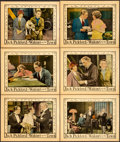 "Movie Posters:Comedy, Waking up the Town (United Artists, 1925). Lobby Cards (6) (11"" X 14"").. ... (Total: 6 Items)"