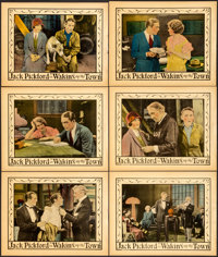 "Waking up the Town (United Artists, 1925). Lobby Cards (6) (11"" X 14""). ... (Total: 6 Items)"