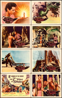 """The 7th Voyage of Sinbad (Columbia, 1958). Lobby Card Set of 8 (11"""" X 14""""). ... (Total: 8 Items)"""