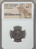 Ancients:Roman Provincial , Ancients: EGYPT. Alexandria. Probus (AD 276-282). BI tetradrachm.NGC AU....