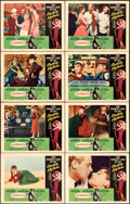 "Movie Posters:Romance, Sabrina (Paramount, R-1965). Lobby Card Set of 8 (11"" X 14"").. ...(Total: 8 Items)"