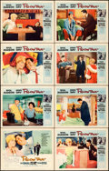 "Movie Posters:Comedy, Pillow Talk (Universal International, 1959). Lobby Card Set of 8(11"" X 14"").. ... (Total: 8 Items)"