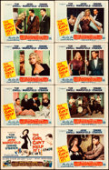 "Movie Posters:Comedy, The Girl Can't Help It (20th Century Fox, 1956). Lobby Card Set of 8 (11"" X 14"").. ... (Total: 8 Items)"