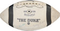 Football Collectibles:Balls, 1954 Detroit Lions Team Signed Football - Western Conference Champions....