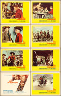 "Movie Posters:Western, The Magnificent Seven (United Artists, 1960). Lobby Card Set of 8 (11"" X 14"").. ... (Total: 8 Items)"