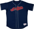 Baseball Collectibles:Uniforms, 2005 CC Sabathia Game Worn Cleveland Indians Jersey. ...