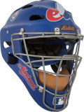 Baseball Collectibles:Others, 2000's Brian Schneider Game Worn Montreal Expos Catcher's Mask.....