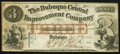 Obsoletes By State:Iowa, Dubuque, IA- Dubuque Central Improvement Company $3 Jan. 2, 1858....