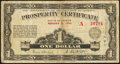 Canadian Currency: , Edmonton, AB- The Province of Alberta $1 Aug. 5, 1936 Ch. # A-1....