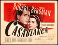"Movie Posters:Academy Award Winners, Casablanca (Warner Brothers, R-1949). Title Lobby Card (11"" X14"").. ..."