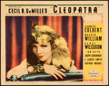 "Movie Posters:Drama, Cleopatra (Paramount, 1934). Lobby Card (11"" X 14"").. ..."