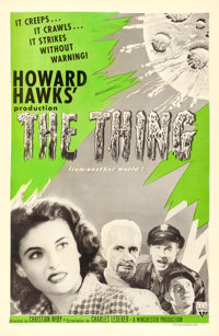 """The Thing from Another World (RKO, R-1957). One Sheet (27"""" X 41"""")"""