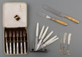 Decorative Arts, Continental, Thirty-Six Pieces of Various Flatware, late 19th-20th centuries.Marks: (various marks). 9-1/2 inches long (24.1 cm) (longes...(Total: 4 Items)