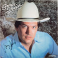 Music Memorabilia:Autographs and Signed Items, George Strait Signed Something Special Album (1985)....