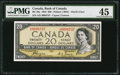 Canadian Currency: , BC-33a $20 1854 Devil's Face. ...