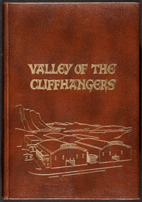 """Valley of the Cliffhangers (Jack Mathis, 1975). Limited Edition Hardcover Book (448 Pages, 12.5"""" X 17.5""""). Ser..."""