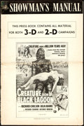 "Movie Posters:Horror, Creature from the Black Lagoon (Universal International, 1954).Uncut Pressbook (16 Pages, 12"" X 18"") 3-D and 2-D Styles.. ..."