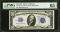 Small Size:Silver Certificates, Fr. 1701* $10 1934 Silver Certificate. PMG Gem Uncirculated 65 EPQ.. ...