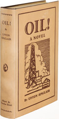 Books:Literature 1900-up, Upton Sinclair. Oil! New York: 1927. First trade edition. ...