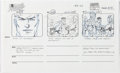 Animation Art:Production Drawing, Spider-Man Production Storyboard Drawings Group of 23(Marvel, 1994)....