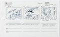 Animation Art:Production Drawing, Spider-Man Production Drawings Group of 7 (Marvel, 1994)....