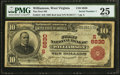 National Bank Notes:West Virginia, Williamson, WV - $10 1902 Red Seal Fr. 613 The First NB Ch. # (S)6830. ...