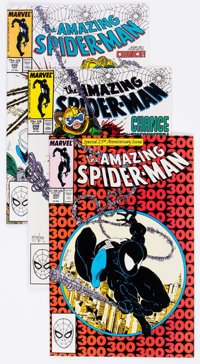 The Amazing Spider-Man Group of 17 (Marvel, 1988-89) Condition: Average NM-.... (Total: 17 Comic Books)
