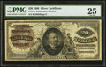 Large Size:Silver Certificates, Fr. 315 $20 1886 Silver Certificate PMG Very Fine 25.. ...