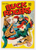 Golden Age (1938-1955):Science Fiction, Buck Rogers #5 (Eastern Color, 1943) Condition: VG+....