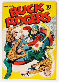 Buck Rogers #5 (Eastern Color, 1943) Condition: VG+