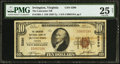 National Bank Notes:Virginia, Irvington, VA - $10 1929 Ty. 1 The Lancaster NB Ch. # 5290. ...